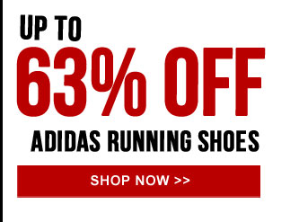 Up to 63% off adidas Running Shoes