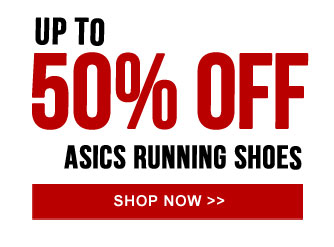 Up to 50% off asics Running Shoes