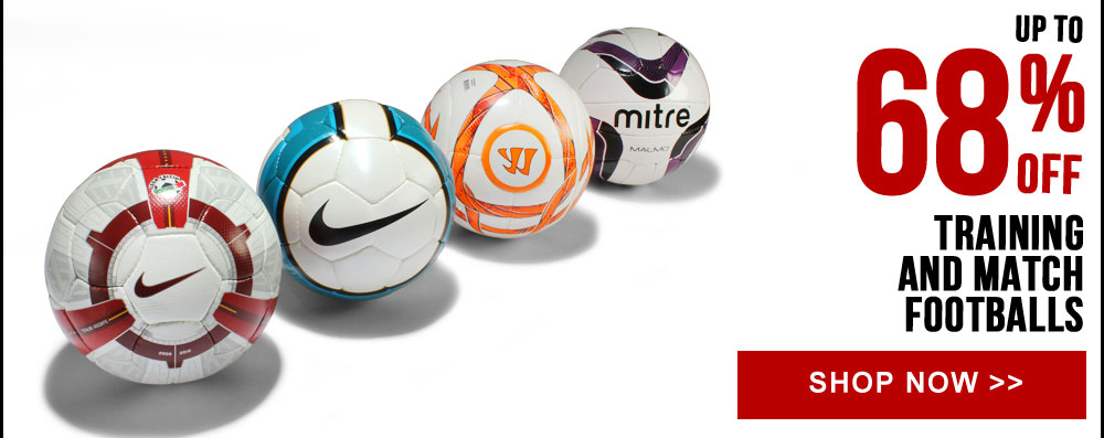 Up to 68% off Training and Match Footballs