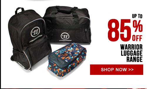 Up to 85% off Warrior Luggage Range