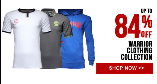 Up to 84% off Warrior Clothing Collection