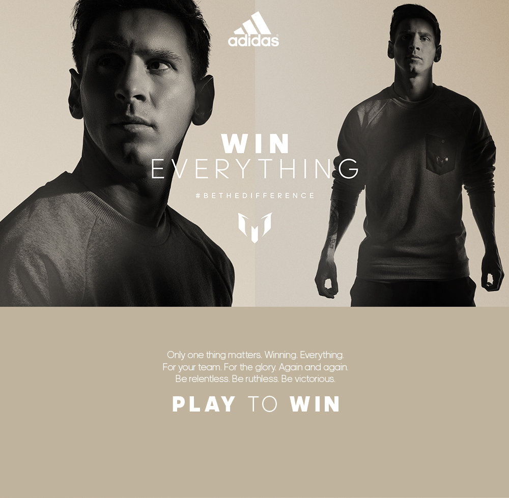 adidas Messi15 - Win Everything.