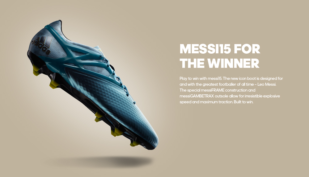 Messi15 for the winner - Pre-order Now