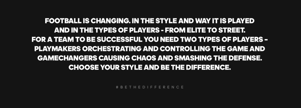 Choose your style & be the diference