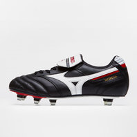 Mizuno Morelia Pro SG Football Boots Black/White