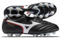 Mizuno Morelia MRL Club FG Football Boots Black/White/Red