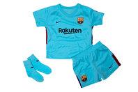 Nike FC Barcelona 17/18 Infants Away Football Kit