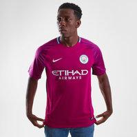 Nike Manchester City 17/18 Away Replica S/S Football Shirt