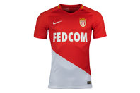 Nike AS Monaco FC 17/18 Home Authentic Match S/S Football Shirt