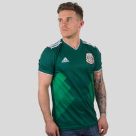 adidas Mexico 2018 Home S/S Football Shirt