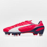 Puma evoSPEED 1.3 Leather Mixed Sole SG Football Boots