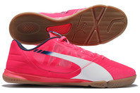 evoSPEED Sala Indoor Football Trainers Bright Plasma/White/Peacoat