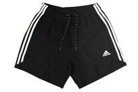 Essentials 3 Stripe Chelsea Training Shorts Black/White