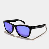 Frogskins OO9013 24-29855 Matte Black Violet Iridium Sunglasses