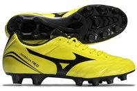Mizuno Morelia Neo CL MD FG Football Boots Bolt/Black