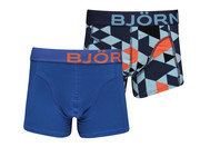 Bjorn Borg Tiles 2 Pack Boxer Shorts