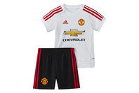 adidas Manchester United 15/16 Infant Away Replica Football Kit