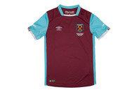 Umbro West Ham United 16/17 Home Kids S/S Replica Football Shirt