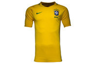 Nike Brazil 2016 Home S/S Replica Football Shirt