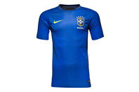 Nike Brazil 2016 Pre-Match Flash II Football T-Shirt