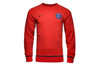 Nike Paris Saint-Germain 16/17 AW77 Authentic Crew Sweatshirt
