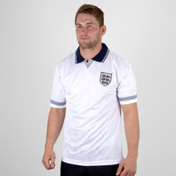 Score Draw England 1990 World Cup Finals Retro Football Shirt
