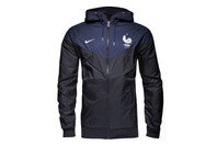 France 2016 Authentic Windrunner Hooded Football Jacket