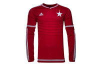 adidas Wisla Krakow 16/17 Home L/S Replica Football Shirt