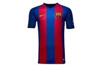 FC Barcelona 16/17 Home Kids Replica S/S Football Shirt