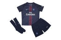Nike Paris Saint-Germain 16/17 Little Kids Home Football Kit