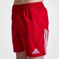 adidas 3 Stripe Kids Training Shorts