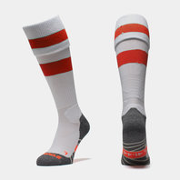 Original Hooped Match Sock - White/Red