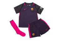 FC Barcelona 16/17 Kids Away Football Kit