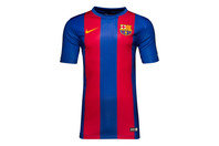 Nike FC Barcelona 16/17 Home Kids Supporters Football T-Shirt