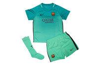 FC Barcelona 16/17 Kids 3rd Football Kit