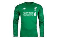 New Balance Liverpool FC 17/18 Goalkeeper Home L/S Football Shirt