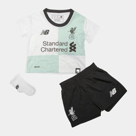 New Balance Liverpool FC 17/18 Away Infant Football Kit