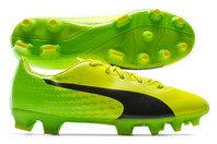 Puma evoSPEED 17.4 FG Kids Football Boots