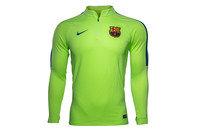Nike FC Barcelona 2017 1/4 Zip Football Drill Top