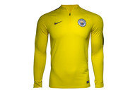 Nike Manchester City 2017 1/4 Zip Football Drill Top