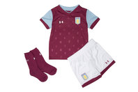Under Armour Aston Villa 17/18 Kids Home Football Replica Kit