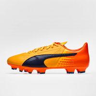 Puma evoSPEED 17.2 FG Leather Football Boots