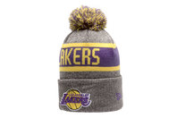 New Era NBA Los Angeles Lakers Marl Bobble Knit