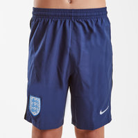 Nike England 17/18 Kids Away Stadium Football Shorts
