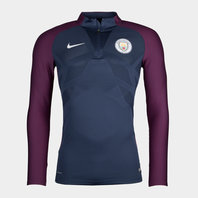 Nike Manchester City 17/18 Aeroswift Strike Football Drill Top