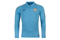 Nike Manchester City 17/18 Squad Training Football Drill Top