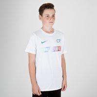 Nike Ronaldo CR7 Kids Dry Fit S/S Football T-Shirt
