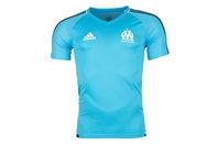 adidas Olympic Marseille 17/18 Players S/S Football Training Shirt