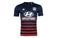 adidas Olympique Lyon FC 17/18 Away Replica S/S Football Shirt