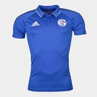 adidas FC Schalke 04 17/18 Players Football Polo Shirt